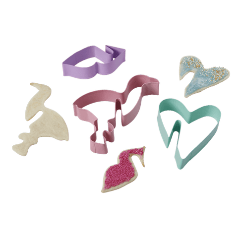 3 Assorted Cookie Cutters for Hanging Cookies
