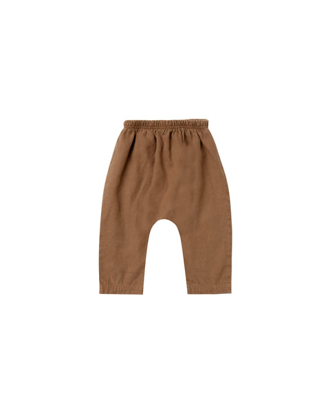 Rylee + Cru,Baggy Harem Pant in Caramel,CouCou,Baby Boy Clothes