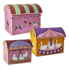 RICE,Large Toy Basket in Carousel Design,CouCou,Home/Decor