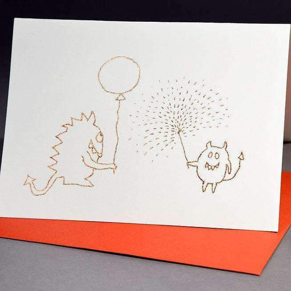 W-ink,Monster Bash,CouCou,Stationary + Greeting Cards