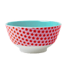 RICE,Two Tone Bowl with Girl Star Print,CouCou,Kitchenware