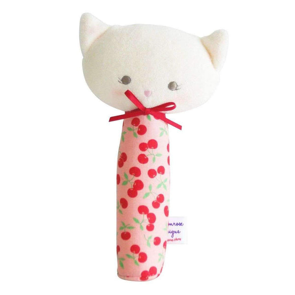 Alimrose,Kitty Squeaker in Cherry Yum!,CouCou,Toy