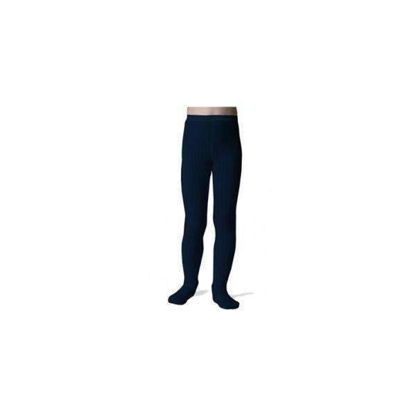 Collegien,Ribbed Tights, Midnight Navy,CouCou,Girl Shoes, Socks & Tights