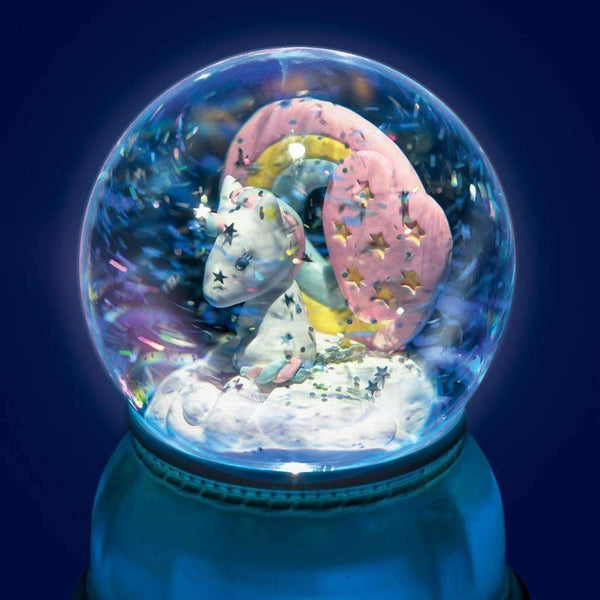 Djeco,Unicorn Snow Globe Night Light,CouCou,Home/Decor