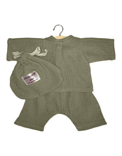 Mao Set in Olive Green