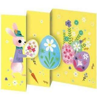 Roger La Borde,Easter Rabbit Card,CouCou,Crafts & Stationary