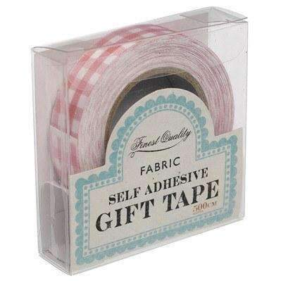 Rex,Pink Gingham Fabric Sticky Tape,CouCou,Crafts & Stationary