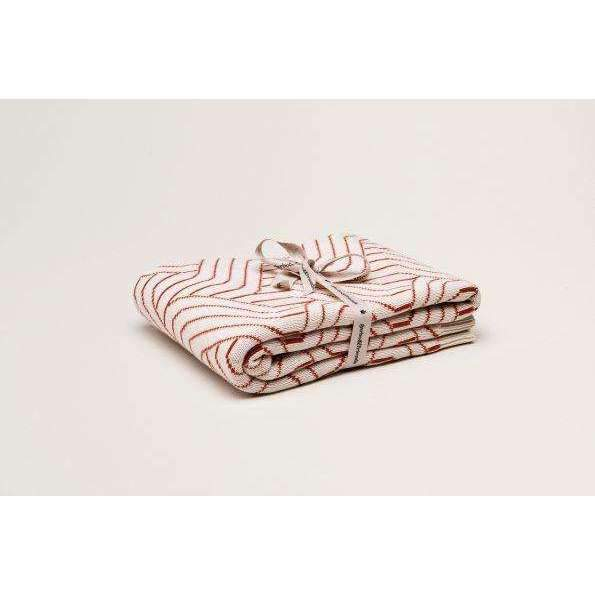 Garbo & Friends,Strada Rust Cotton Blanket,CouCou,Home/Decor