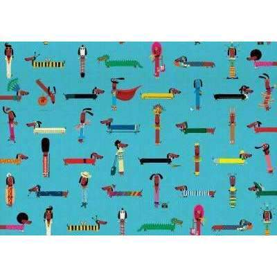 Roger La Borde,Double Sided Gift Wrap, Odd Dog Out,CouCou,Crafts & Stationary