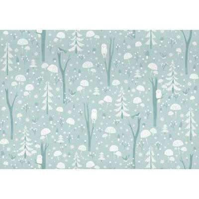 Roger La Borde,Double Sided Gift Wrap, Frosty Forest,CouCou,Crafts & Stationary