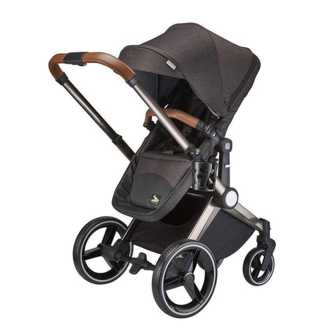Kangaroo Stroller and Bassinet, Charcoal