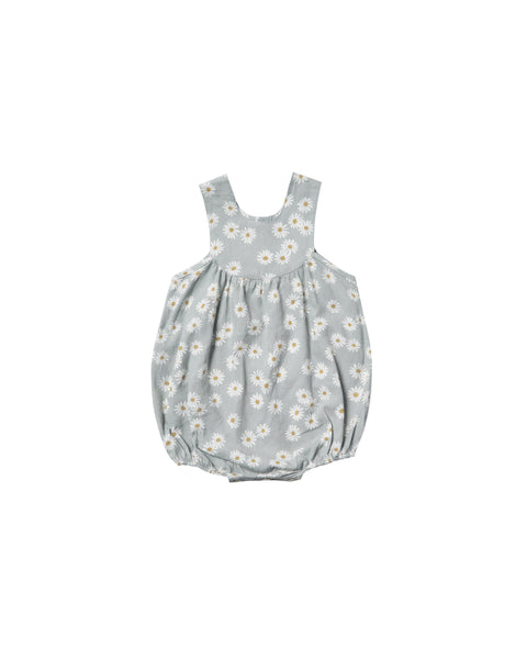 Rylee + Cru,Daisy June Romper in Sky,CouCou,Baby Girl Clothes