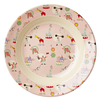 RICE,Bowl with Girl Circus Print,CouCou,Kitchenware