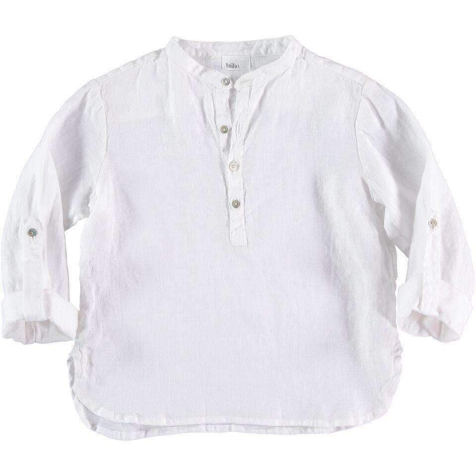 Búho,Linen Shirt,CouCou,Boy Clothes