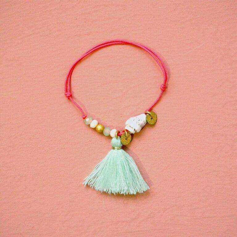 Louise Misha,Shashi Bracelet, Almond,CouCou,Girl Accessories & Jewellery