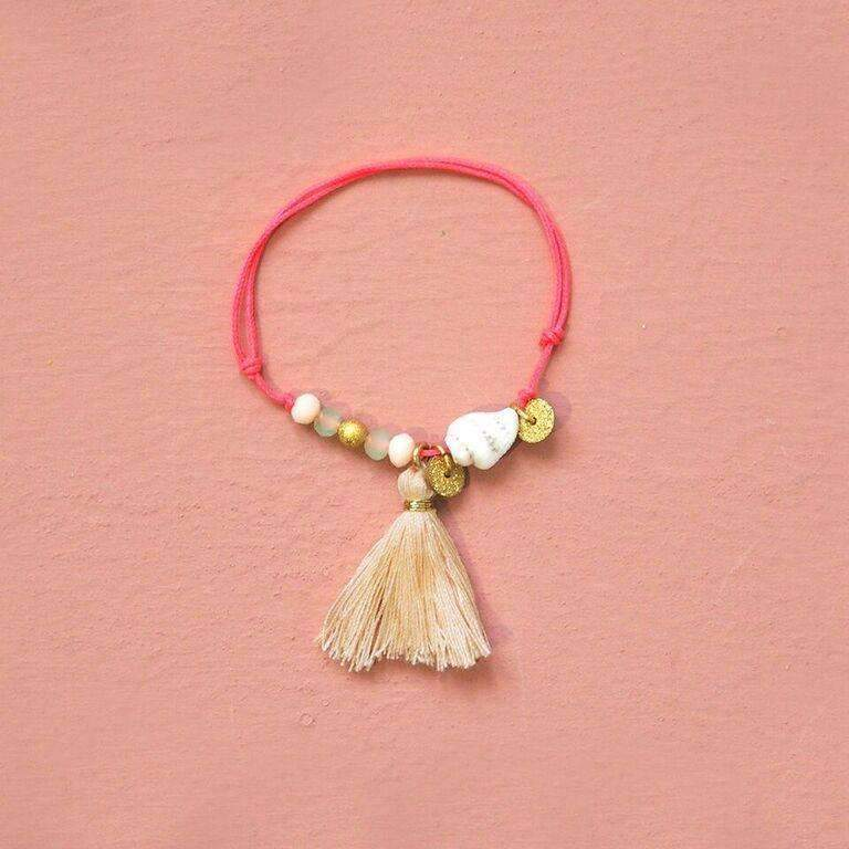 Louise Misha,Shashi Bracelet, Blush,CouCou,Girl Accessories & Jewellery