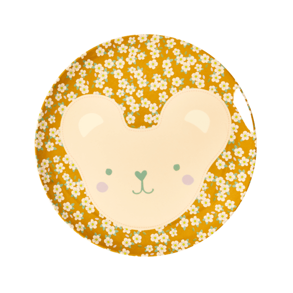 RICE,Lunch Plate with Animal Print, Koala,CouCou,Kitchenware