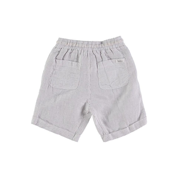 Búho,Simon Diplomatic Striped Bermuda Shorts,CouCou,Boy Clothes