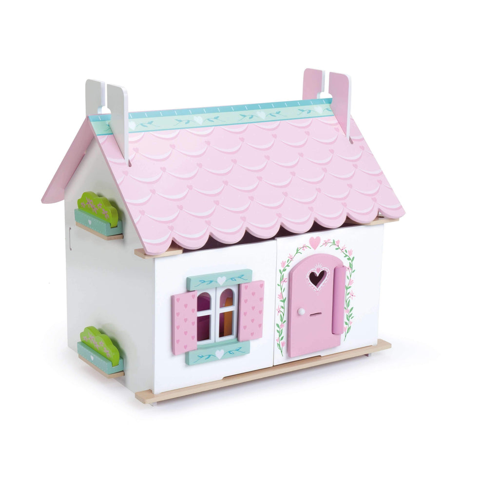 Le Toy Van,Lily's Cottage with Furniture,CouCou,Toy
