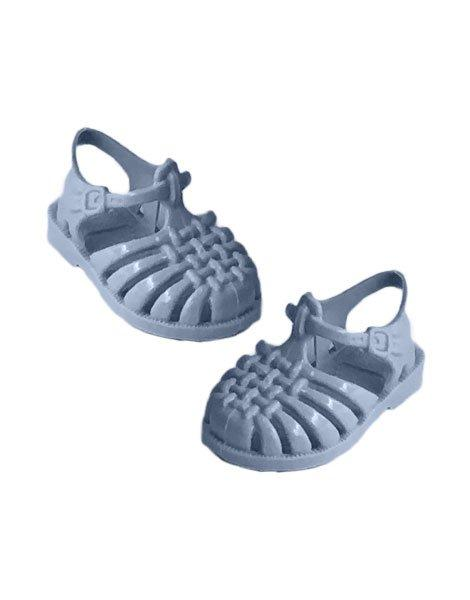 Doll Sun Sandals in Blue Pastel