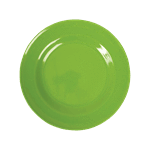 RICE,Kids Melamine Lunch Plate, Apple Green,CouCou,Kitchenware