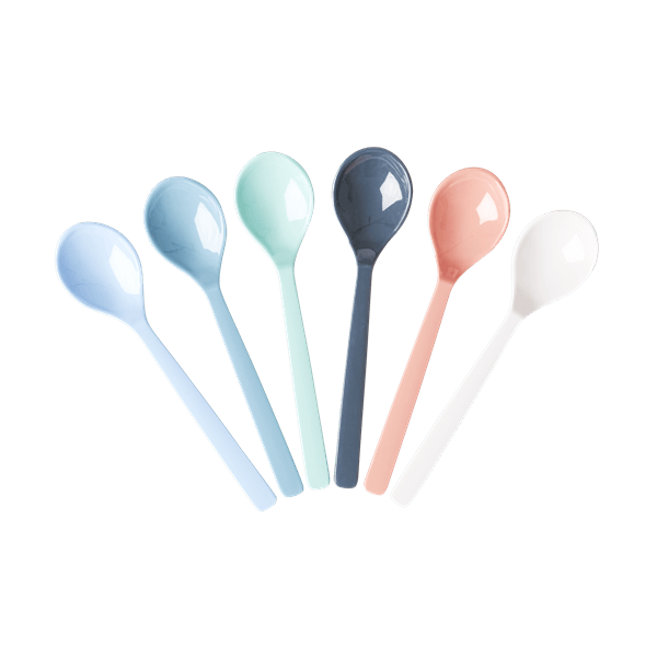 RICE,6 Spoons in Assorted Happy 21st Colors,CouCou,Kitchenware