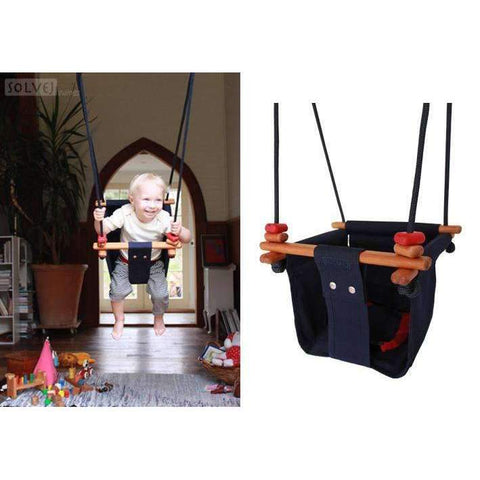 Baby and Toddler Swing, Midnight Blue