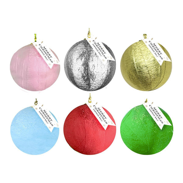 Mini Surprize Ball Holiday Ornament- Assorted Colors