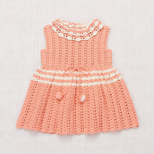 Misha & Puff,Ever Dress, Coral,CouCou,Girl Clothes