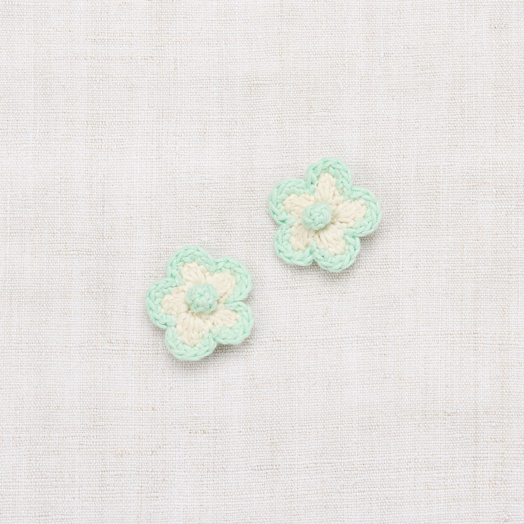 Misha & Puff,Medium Crochet Flower Clip Set,CouCou,Girl Accessories & Jewellery