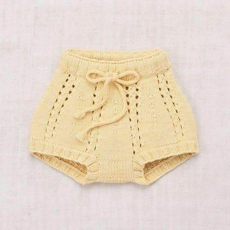 Misha & Puff,Sea Urchin Bloomers in Buttercream,CouCou,Baby Girl Clothes