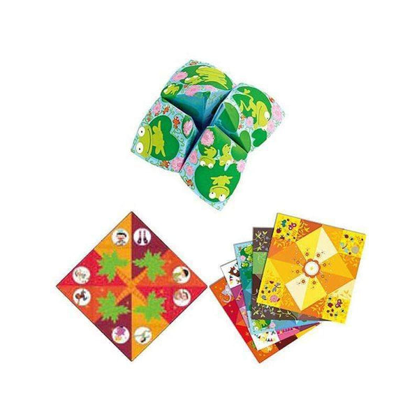 Djeco,Origami Bird Game,CouCou,Arts & Crafts