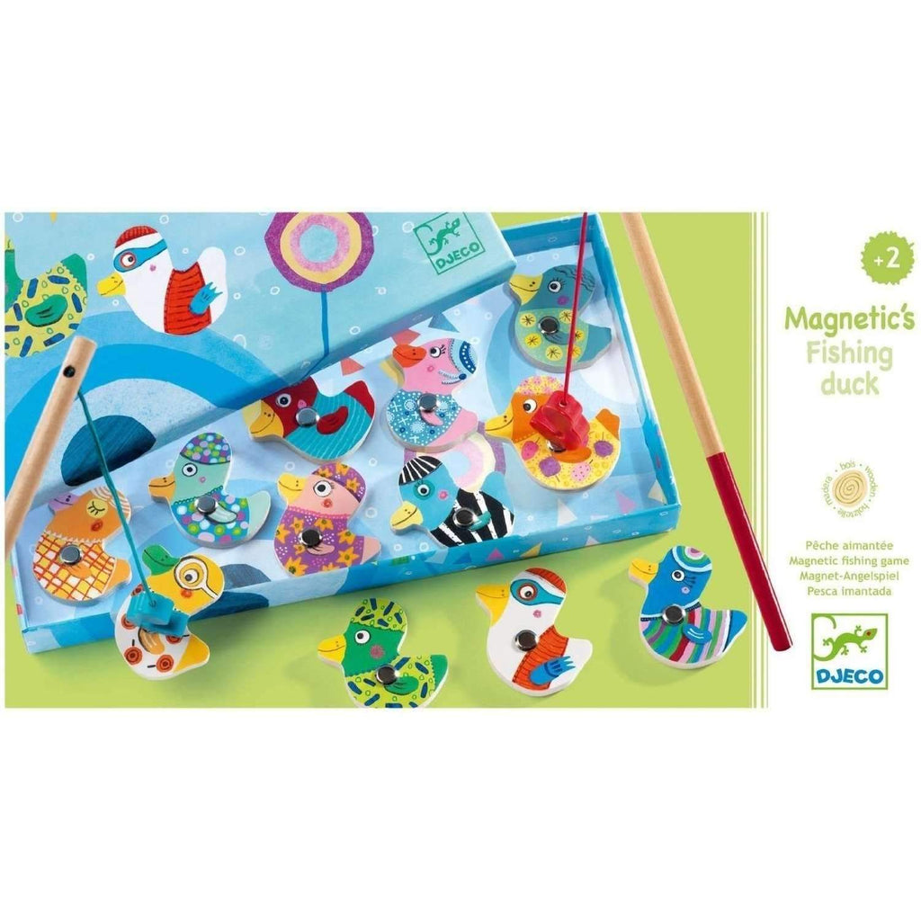 Djeco,Magnetic Fishing Duck Game,CouCou,Toy