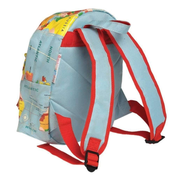 Rex,World Map Backpack,CouCou,Girl Accessories & Jewellery