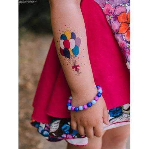 Party Balloon Tattoo