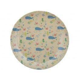 RICE,Lunch Plate with Ocean Life Print,CouCou,Kitchenware