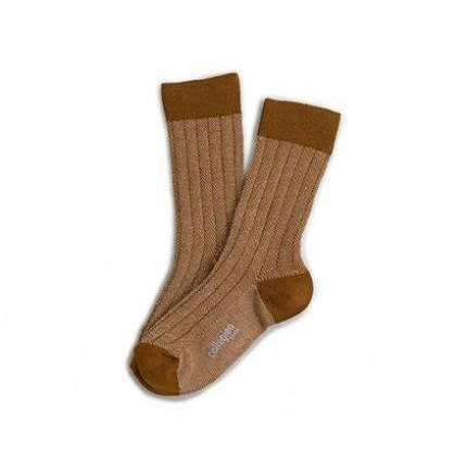 Collegien,Heritage 70 Socks in Gold,CouCou,Boy Shoes & Socks