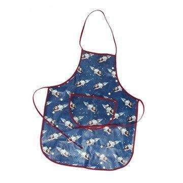 Rex,Spaceboy Design Oil Cloth Apron,CouCou,Crafts & Stationary