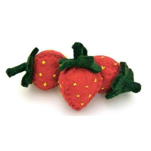 Papoose,Felt Strawberry,CouCou,Toy