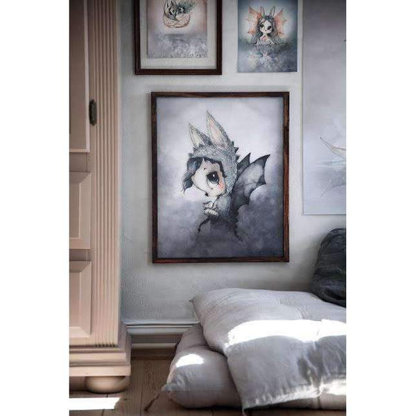 Mrs. Mighetto,2-Pack Miss Bianca and the Swan Boat - 18x24cm Limited Edition Prints,CouCou,Nursery Art