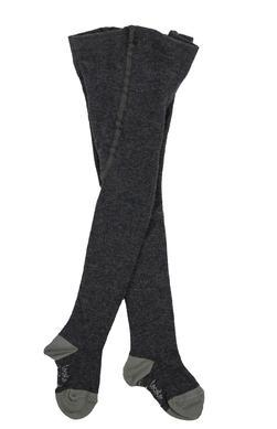 Tocoto Vintage,Contrast Tights in Grey,CouCou,Girl Shoes, Socks & Tights