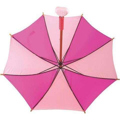 Pink Hearts Umbrella