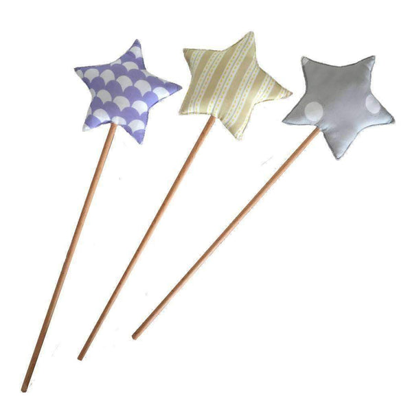 Baby Baazaar,Baby Baazaar Star Wand in Dots,CouCou,Toy