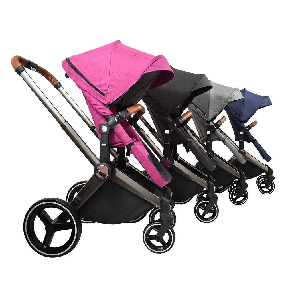 Venice Child Products,Kangaroo Stroller and Bassinet, Granite,CouCou,Furniture and Gear