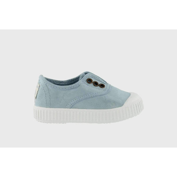 Victoria,Slip on canvas shoe, Nube/Light Blue,CouCou,Boy Shoes & Socks