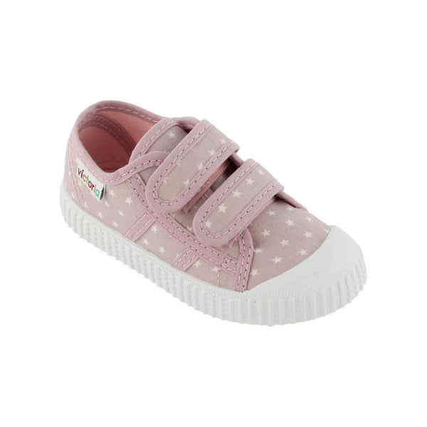Victoria,Double Velcro, Pink Stars,CouCou,Boy Shoes & Socks