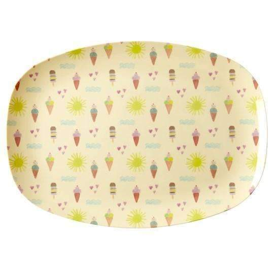 RICE,Rectangular Plate in Summer Print,CouCou,Kitchenware