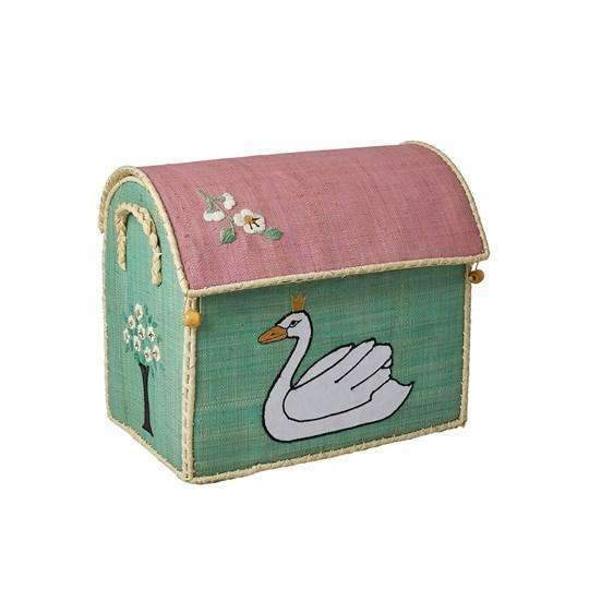 RICE,Small Toy Basket in Ugly Duckling Design,CouCou,Home/Decor