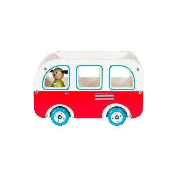 Moulin Roty,Le Grande Famille Wooden Bus,CouCou,Toy