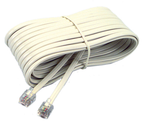 48106 Phone Line Cord 7 ft., Ivory